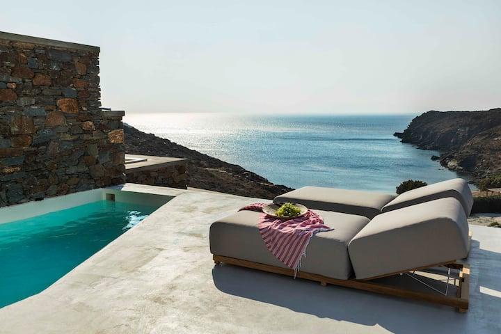 Villa HELIOS with Private Pool - PHOS Villas Tinos