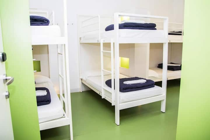 BED IN 8 BED MIXED DORM Sant Jordi Hostels Gracia