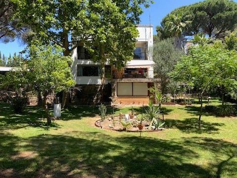 Casa Rural con amplio jardin en Minas de Riotinto.