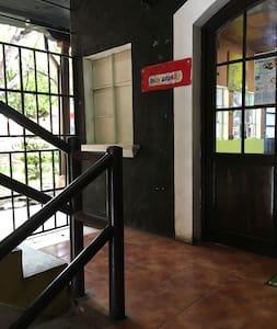 Primer ángulo para poder apreciar de una forma clara el acceso directo al apartamento