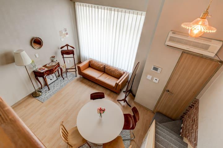 [Dongdaemun private cozy Loft stuido#1]