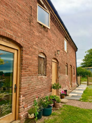 Self-catering accomodation in a converted barn