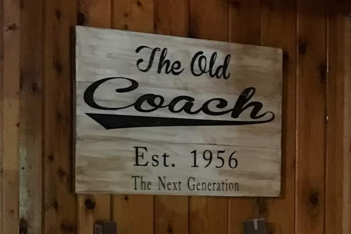 The Old Coach cabin on beautiful Spider Lake