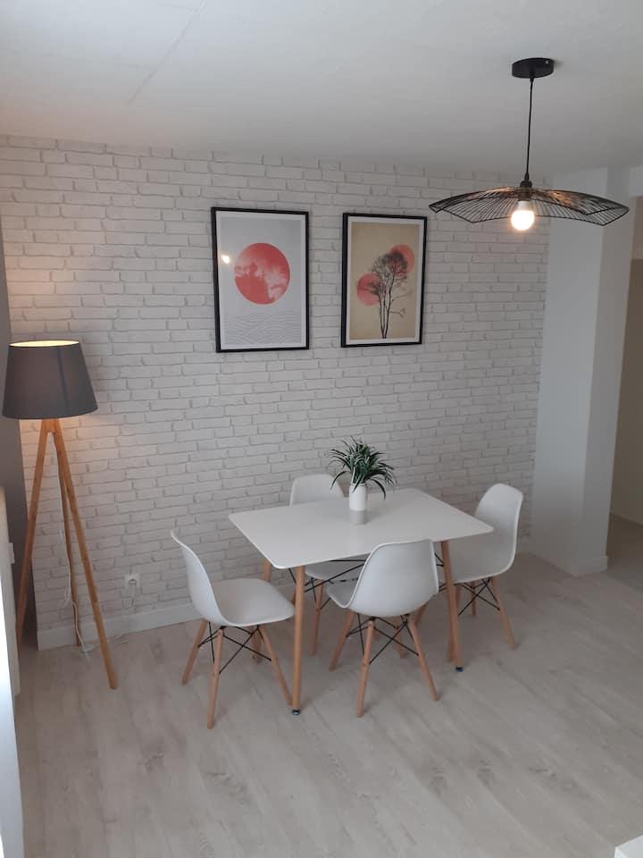 Belle chambre meublée dans un appartement équipé