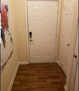 Wide doors.