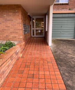 Level access from street to building entry