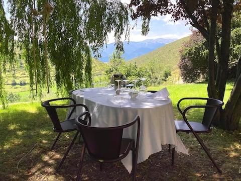 Una llar tranquil·la al Pirineu amb bones vistes