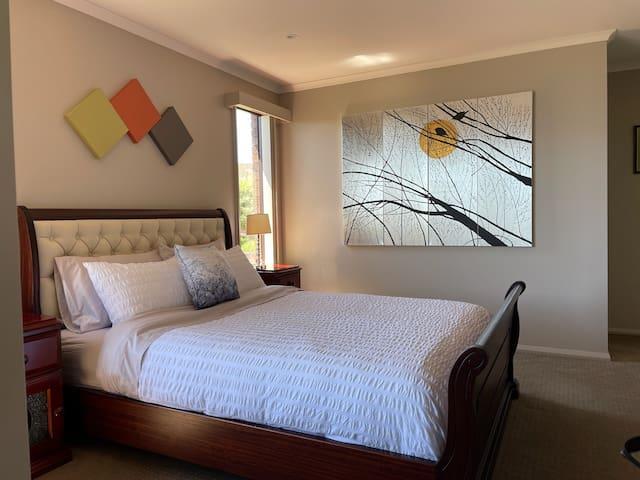 Master bedroom Linen subjected to change