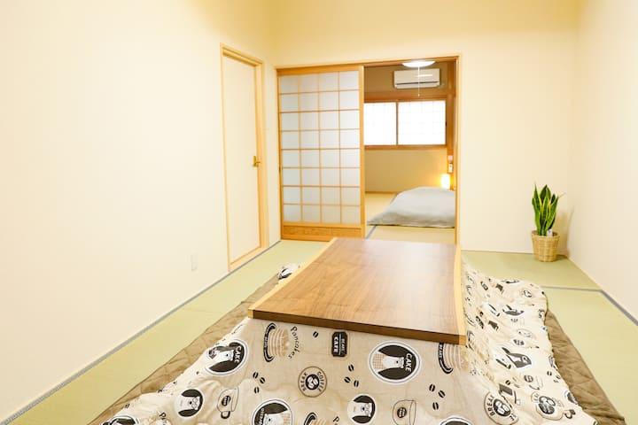 【Room A】Nara Koizumi, 3 min. from Koizumi station