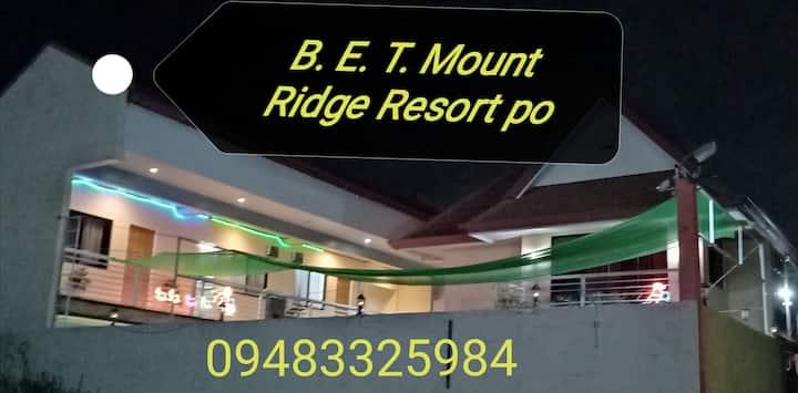 B. E. T.Mount Ridge Resort ( 7k/session