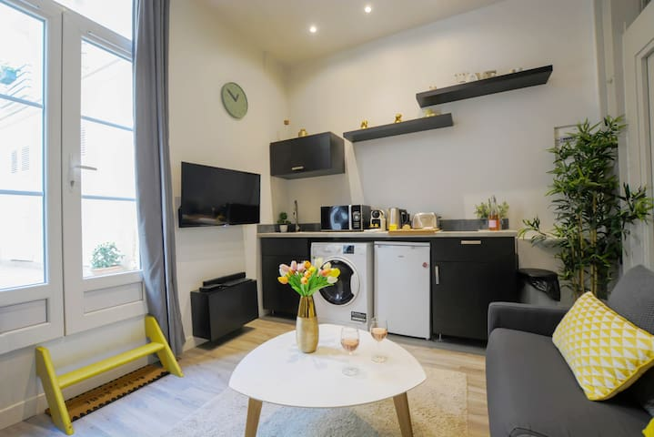 Cozy & Design Studio 2P -in the Heart of le Marais