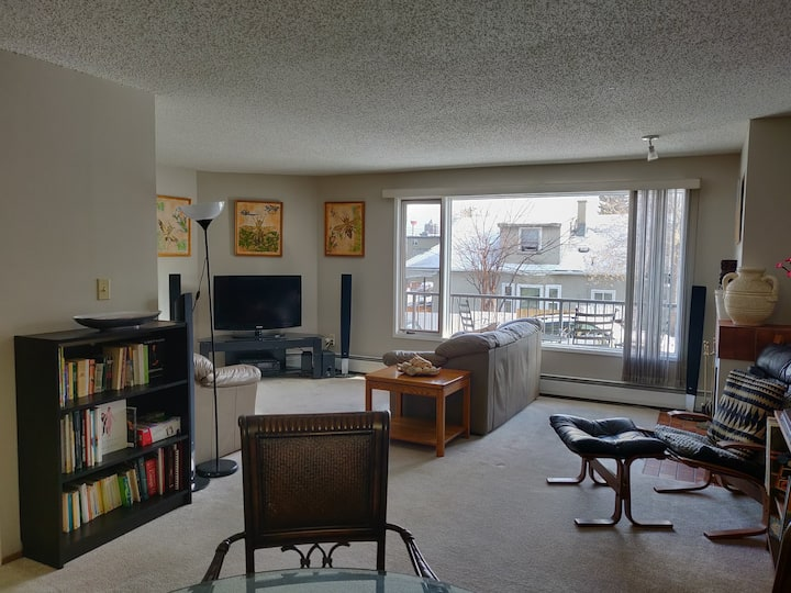 Two Floor 2BDRM Unit w/ private entry in Bankview!