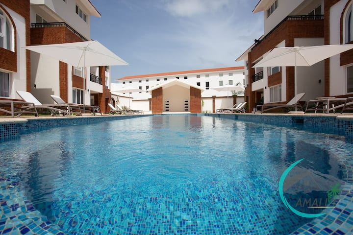 1 BR DELUXE CORAL VILLAGE C-2A,Close to the Beach!