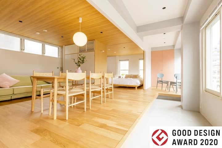 Hotel Re:ONcE Shibuya・Room 3・Good Design Award