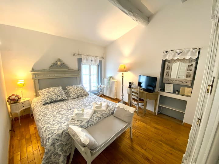 Chambre double cosy en pleine nature