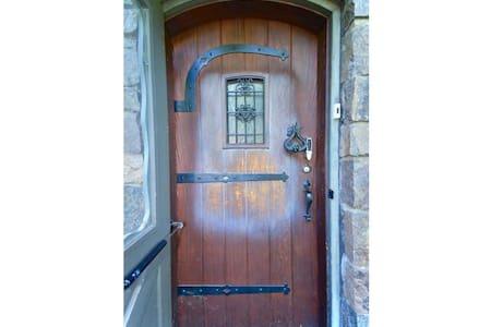 Nice wide door. No need to widen this door frame!