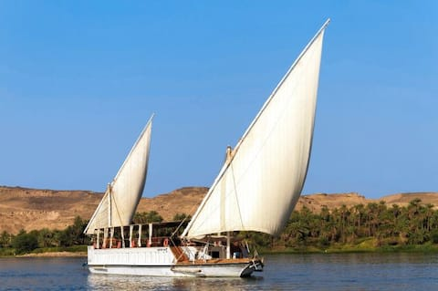 Nile Dahabia  Sailing  Boat