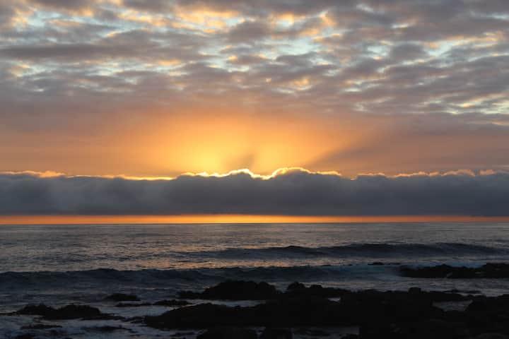Frente al mar donde la tranquilidad se siente