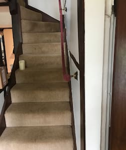 Stairs going to bed room