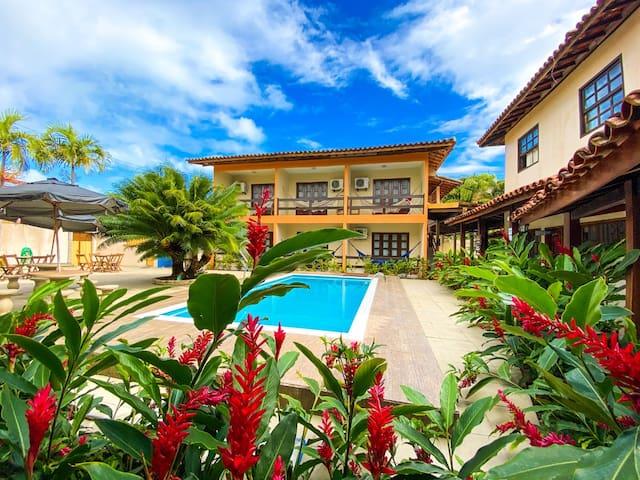 Apto p/ 2 pessoas - Centro de Porto - Hotel Malibu