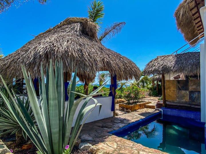 Beachfront House Playa Palmarito Puerto Escondido