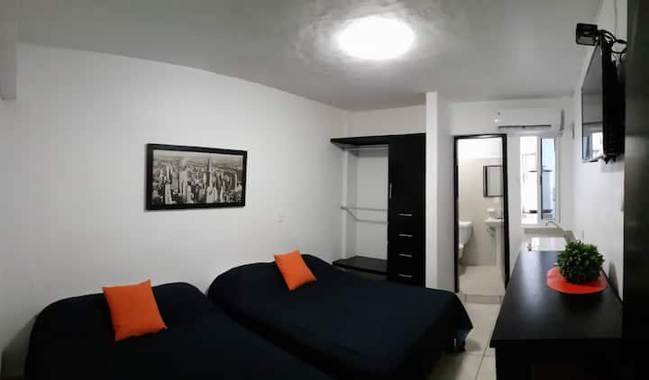 Habitación equipada - Ediplaza Río Suites