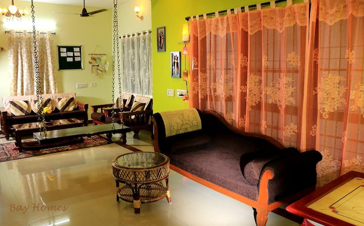 Bay Homes-2BHK Premium Home Stay