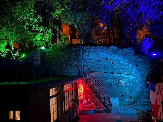 Entire Villa w Bohemian Courtyard and Terrace Dwtn