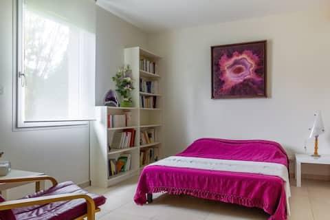 Studio indépendant dans maison d'architecte