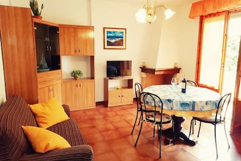 Yellow House Cecina - Three-room apartment with large balcony