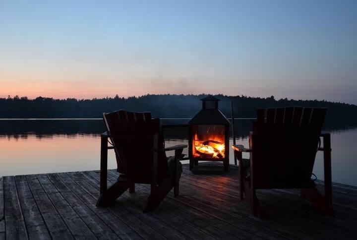Chalet Harmonie au Lac Spooner Pond