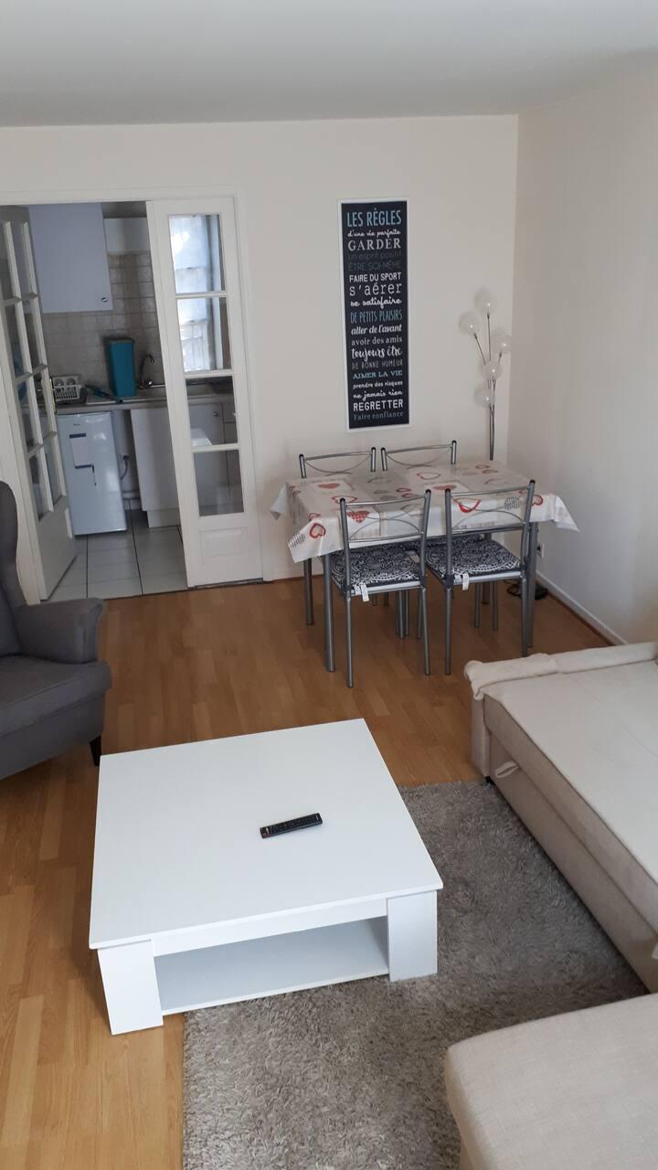 St Léonard, bel appartement avec parking gratuit