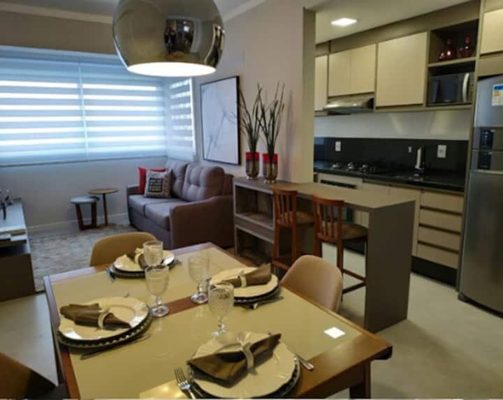 Apartamento 1d novo e em ótima localização