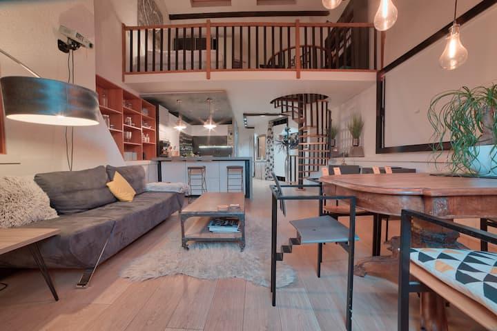 Appartement d'architecte avec parking