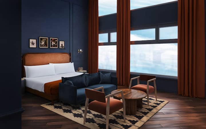 Pioneer's Suite in a Locally-Rooted Boutique Hotel