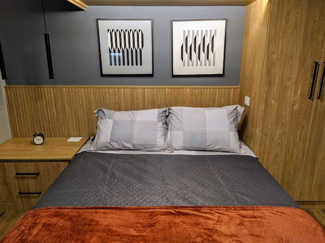 Queen size double bed