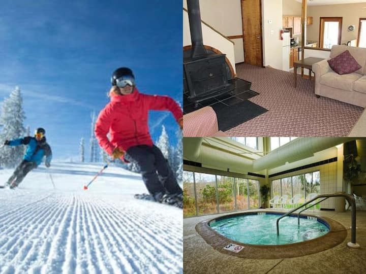 Mountain Fun! 2 Bed/2 Bath condo *Skiing Close By*