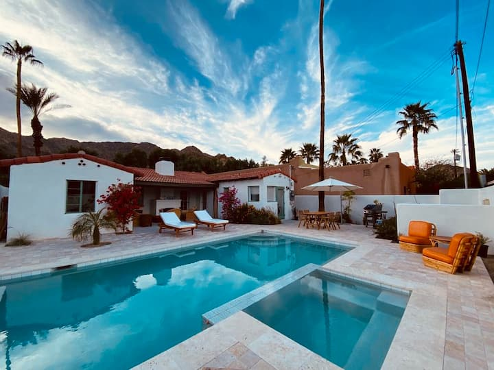Original+Historic Spanish Casita w/ NEW Pool + Spa