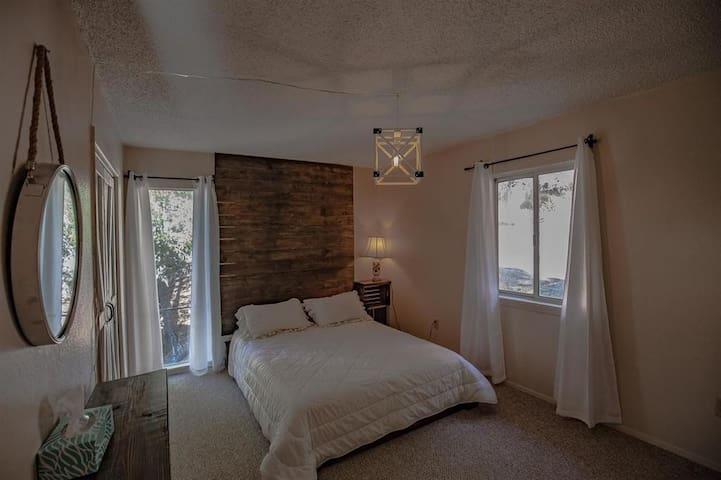 Queen bed #3- main level