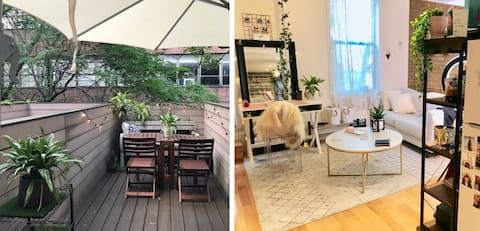 Pretty Mezzanine Studio w/ Balcony-by Empire State