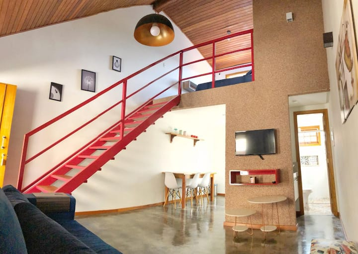 New and cozy loft in Pirinópolis