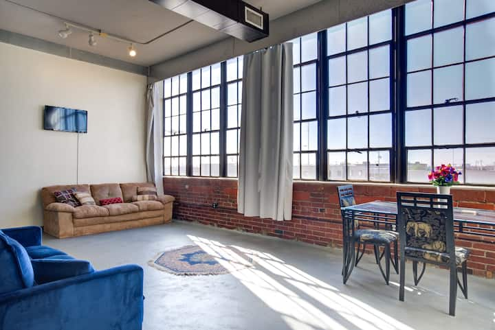 Historic Schoolhouse Loft in Heart of Downtown!