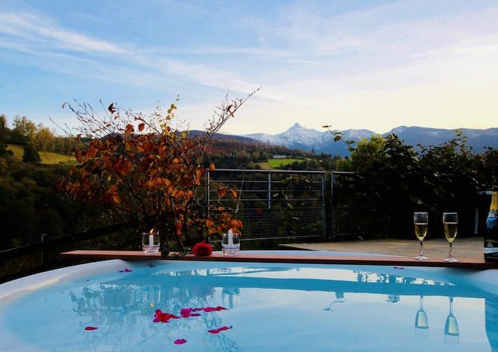 Luscarda, maison de montagne, site exceptionnel