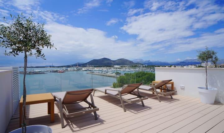 Brand New Luxury Penthouse Sea Views Roof Terrace