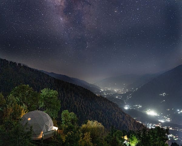 India's 1st Luxury Dome Glamping , GlampEco Manali