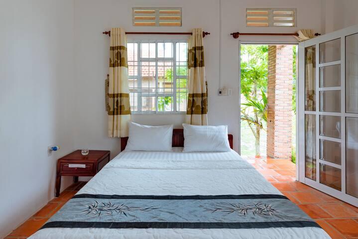 Room in the beach front resort