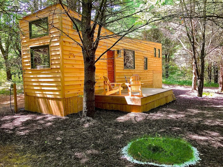 Tranquil Tiny House Forest Retreat