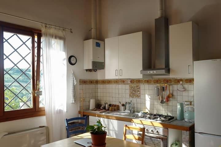 Casa Vacanza La Gialla sui colli bolognesi