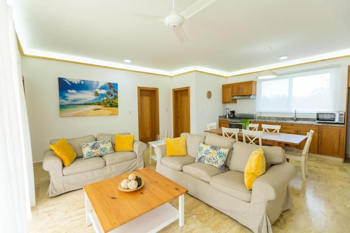 Modern Sosua Ocean Village Villa - No Hidden Fees