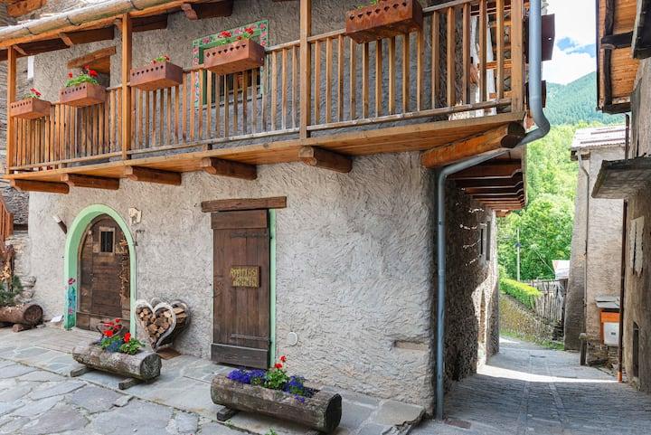 Appartamento in casa di montagna